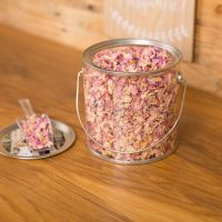 Real Petal Biodegradable Wedding Confetti Tin Confetti Bar