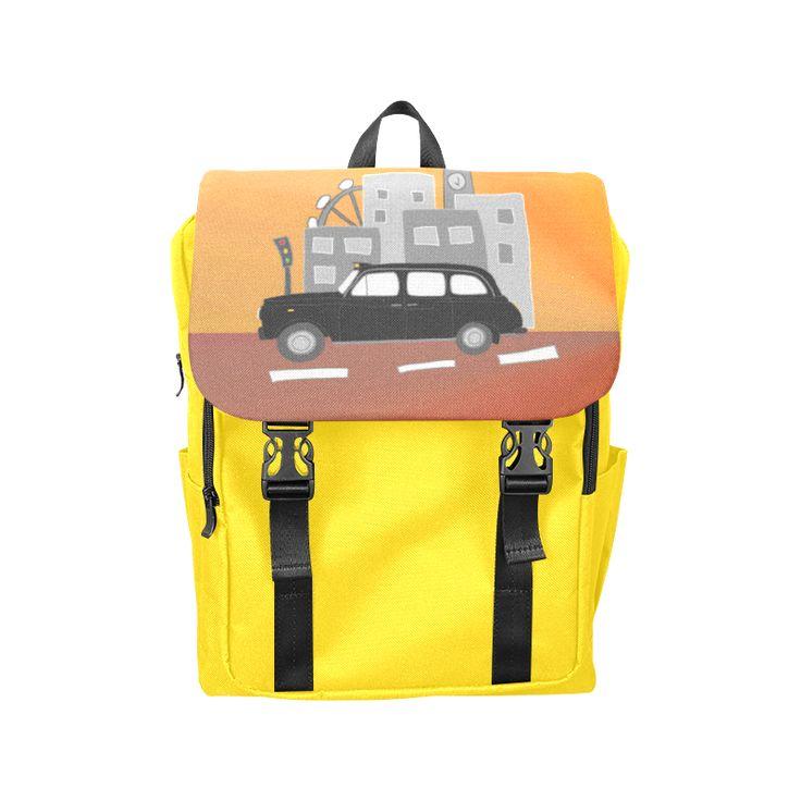 London Taxi Scene Casual Shoulders Backpack (Model 1623)