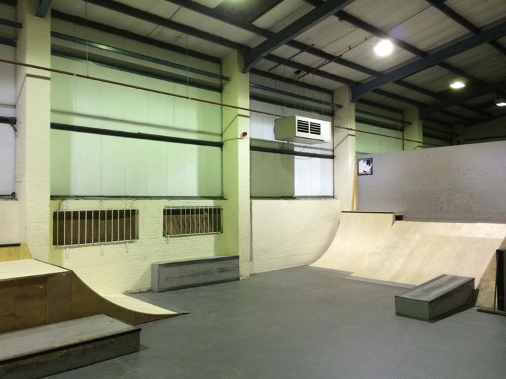New ramps at charge unit #chargeunit #norwich #bmx #skate #indoorskatepark