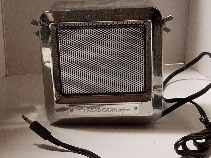 Texas Ranger External CB Speaker Chrome Citizens Band Radio  #RangerCommnications