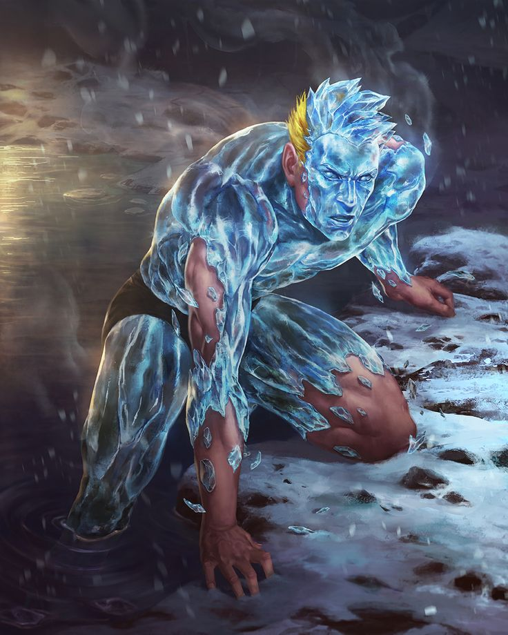Cartoons And Heroes — westcoastavengers:   Iceman | Lie Setiawan