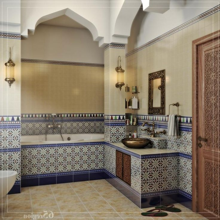 В марокканском стиле - Няшки ванная - ня картинки.