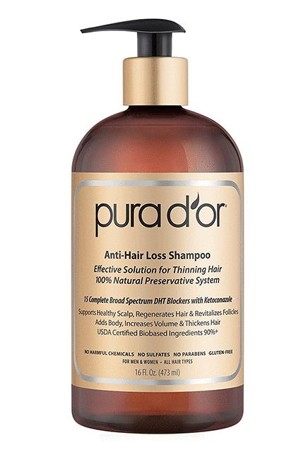Hair loss is no joke and neither is this anti-hair loss shampoo with argan oil to support a healthy scalp and soft ends.   Pura D'Or Anti-Hair Loss Premium Organic Argan Oil Shampoo, $31.77, available at Amazon.