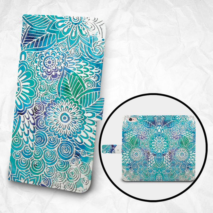 iPhone 6 6S Plus case Samsung Galaxy S6 case Edge case Note 5 4 3 2 PU leather flip cover Book Phone case Wallet case - Grooved-like pattern by BeeBeeStyle on Etsy