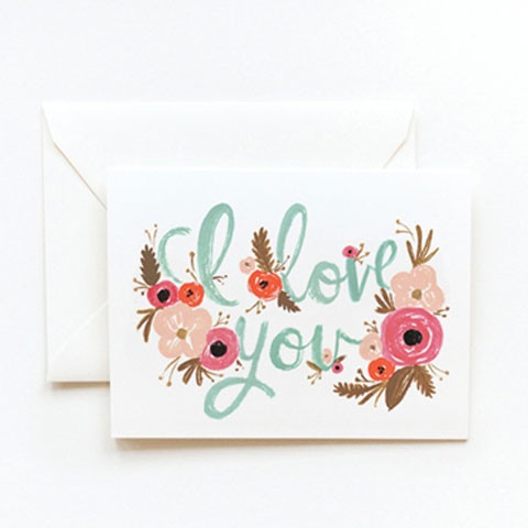 Pretty Card by Rifle Paper Company