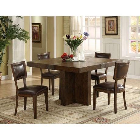 Riverside FurnitureBelize Square Dining Table In Old World Distressed Pine