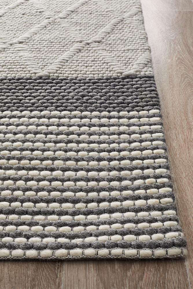 Studio 324 Silver Rug Texture Rugs