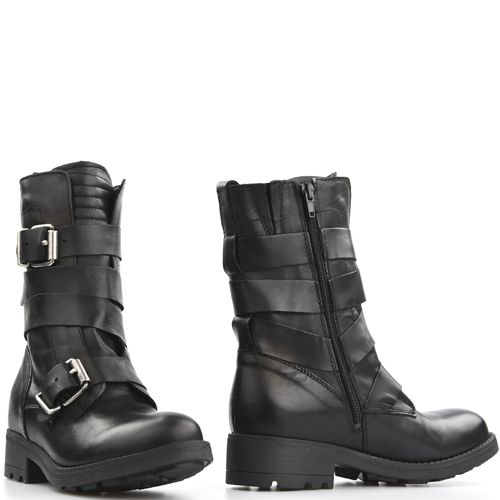 849e9b5e4e6 Poelman 13268 bikerboots Zwart   Poelman - Boots, Shoes en Fashion