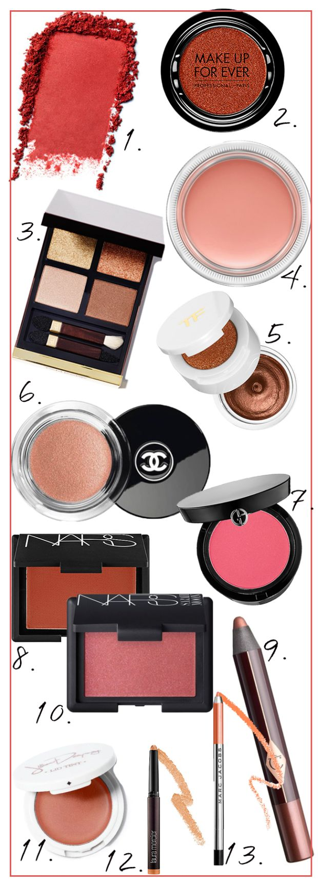 Why I'm crushing on pink and red eye shadow this holiday season.