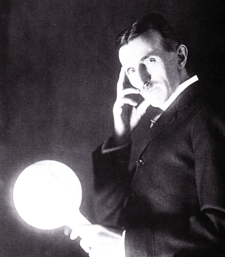 The inventor of electricity and with the idea of being able to have free and infinite amount of energy for the entire world.