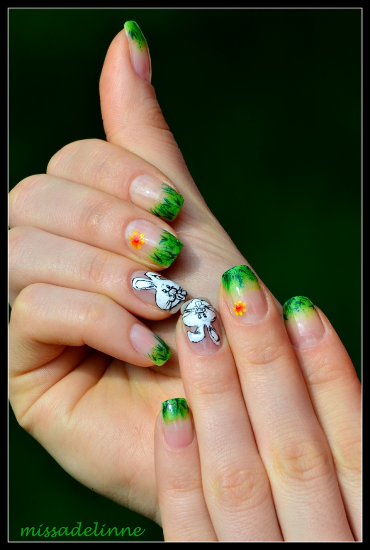 95 Best Easter Nail Designs Images On Pinterest