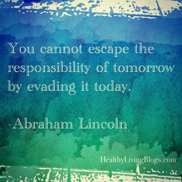 Responsibility #quote