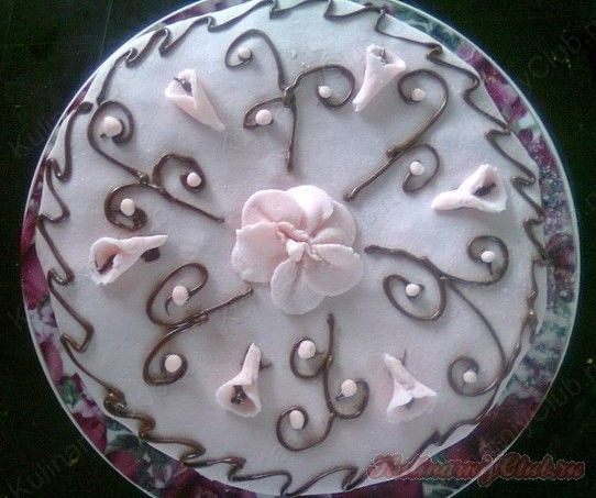 Малиновый торт on http://kulinarniyclub.ru