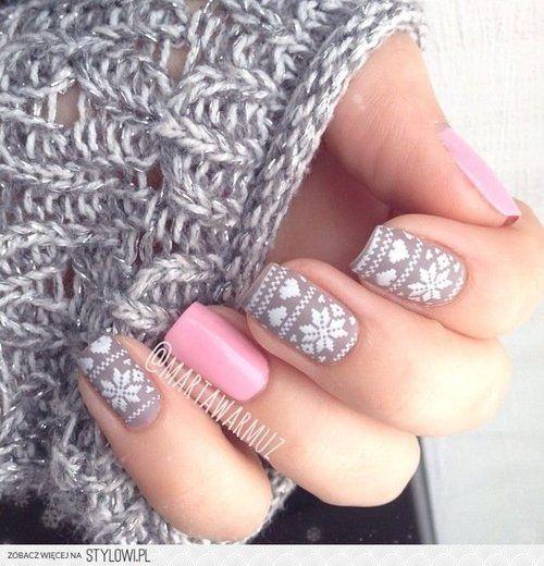 Perfect winter nails <3