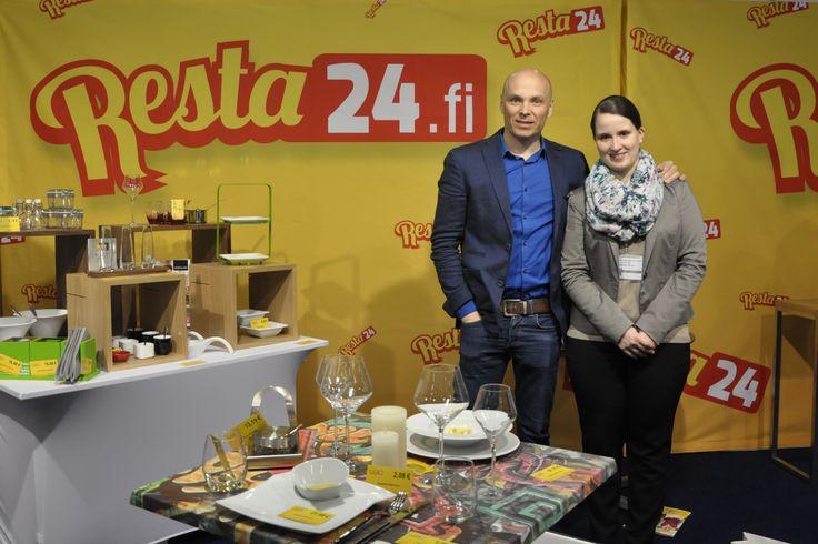 Vuoden alusta toiminut ravintolatarvikkeiden verkkokauppa Resta24 on aloittanut väkevästi. Messuosastolla riitti kävijöitä tasaisena virtana molempina päivinä. Kaupassa on nyt noin 15 000 tuotetta ja lisää tulee koko ajan. Toimitukset suoraan Keski-Euroopasta edullisesti! Tutustu kauppaan osoitteessa www.resta24.fi