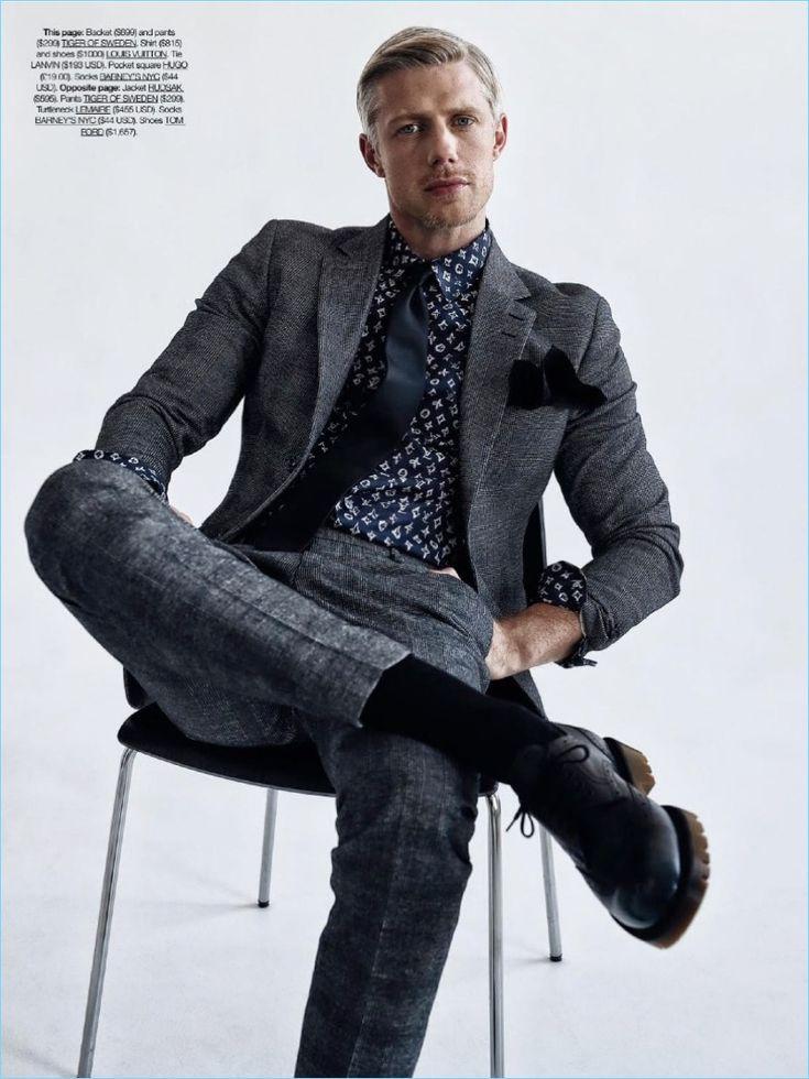 Joel Bedford | DTK Men | Editorial | Fall 2017 Tailoring