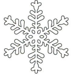 snowflake stencil - Google Search