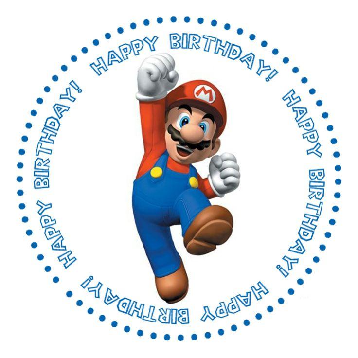 Super Mario Bros Free Printables | love Photoshop!