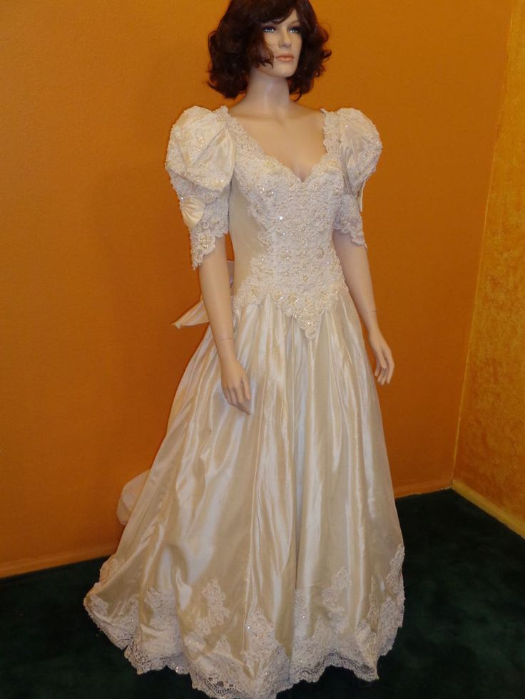 Details about Brand New Beautiful Mori Lee White Wedding ...