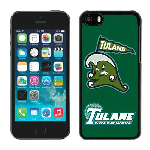 Diy Iphone 5c Case Cover Ncaa Conference USA Tulane Green Wave 4 Cell Phone Accessories