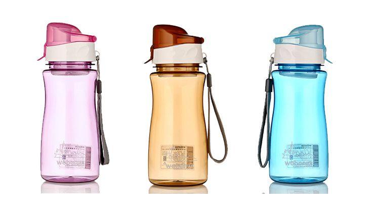 בקבוקי מים צבעוניים מפלסטיק 4.99$ | Shopanica - Online Shopping