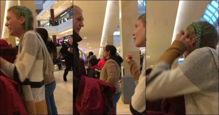 Brat Screams At Grandpa In Mall, SHOCKS Onlookers With What's in Her Hands