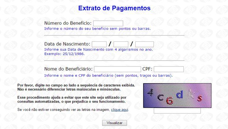 Extrato INSS Providenciario.