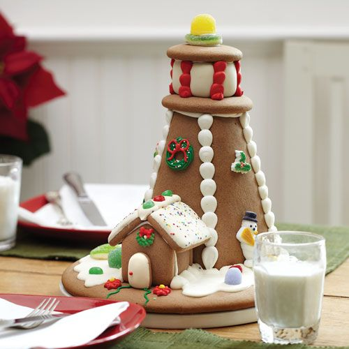 Gingerbread Lighthouse    From Stonewall Kitchen