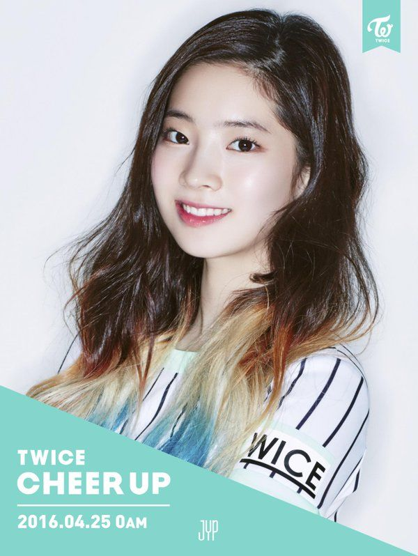 "Twice | Dahyun | Cheer Up Comeback Photos ""Once a fan, TWICE the fun!"" #JYP"