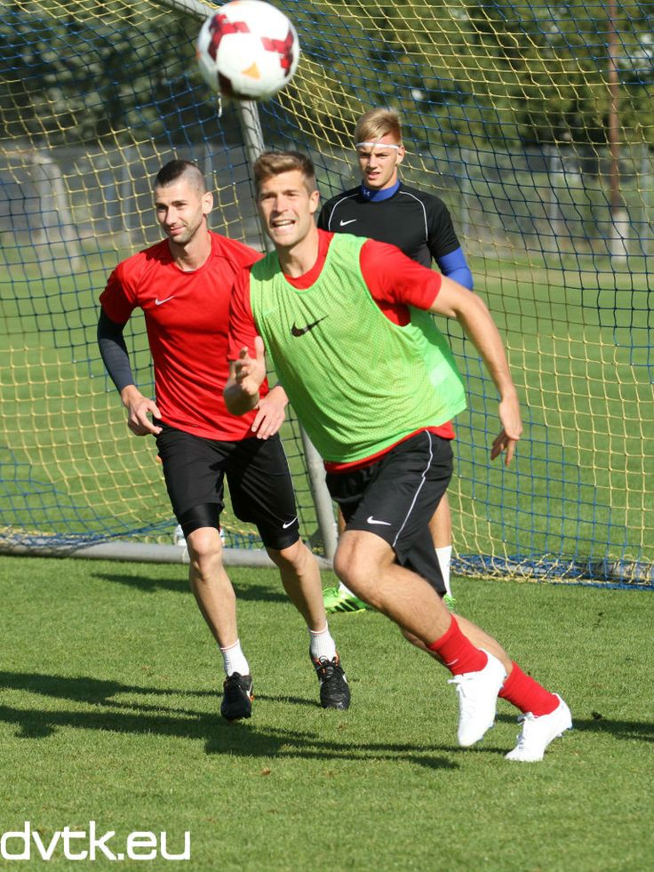 Futács Márkó első alkalommal edzett a DVTK -ban (2013. szeptember 5.)