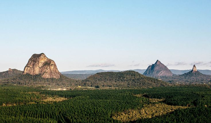 Celeste Mitchell puts her body on the line to test a new breed of adventure travel on the Sunshine Coast: six Glasshouse mountains in one day.