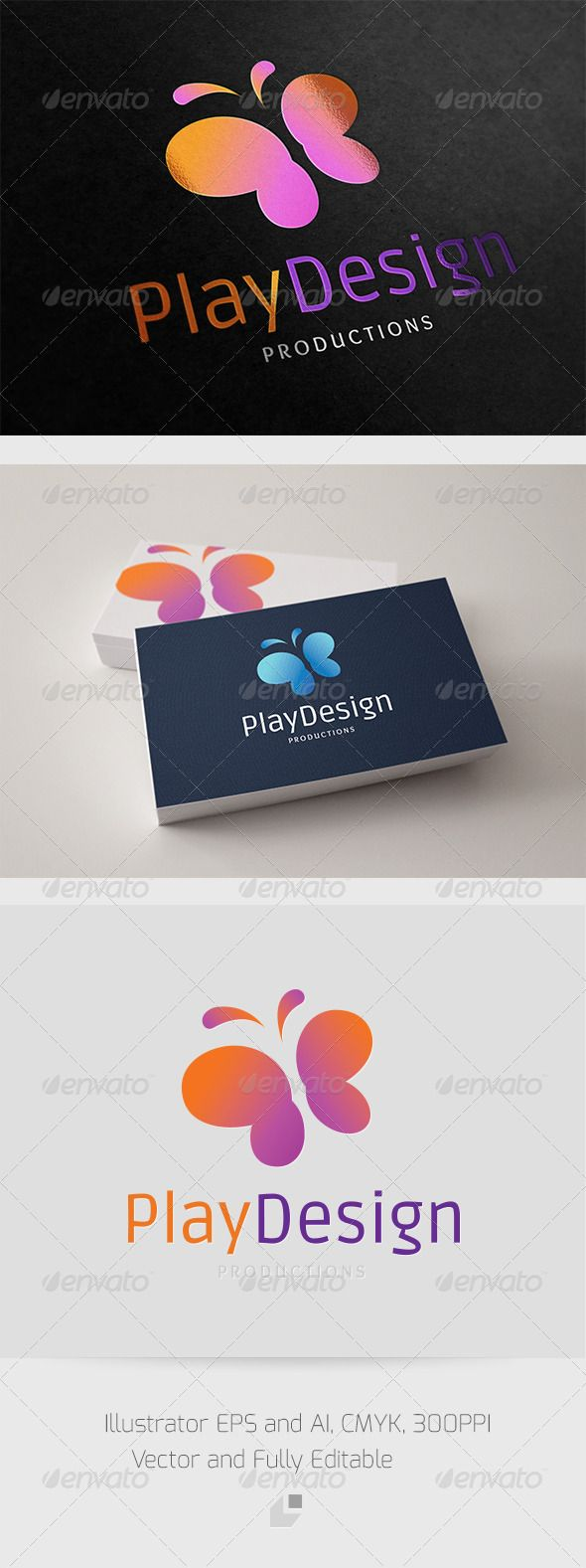 Play Design Logo  #GraphicRiver        Play Design – Logo Template 	 This logo design for all creative business.Excellent logo,simple and unique concept.  Logo Template Features   Illustrator AI, EPS 300PPI   CMYK   100% Scalable Vector Files  Easy to edit color / text  Ready to print  Free font used 	 Ruda  	 Overlock    	 If you buy and like this logo, please remember to rate it. Thanks!     Created: 6November12 GraphicsFilesIncluded: VectorEPS #AIIllustrator Layered: No…