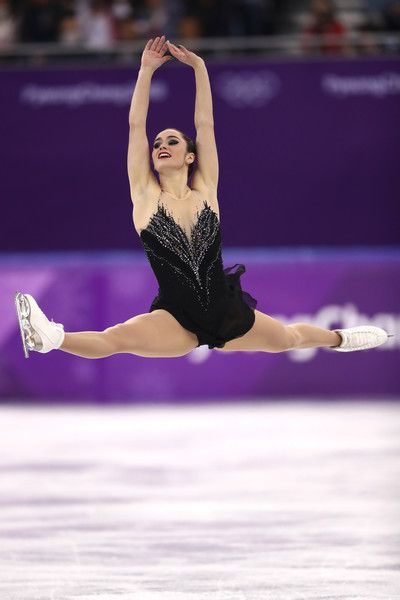 Kaetlyn Osmond of Canada competes during the Ladies Single Skating Free Skating on day fourteen of the PyeongChang 2018 Winter Olympic Games at Gangneung Ice Arena on February 23, 2018 in Gangneung, South Korea.