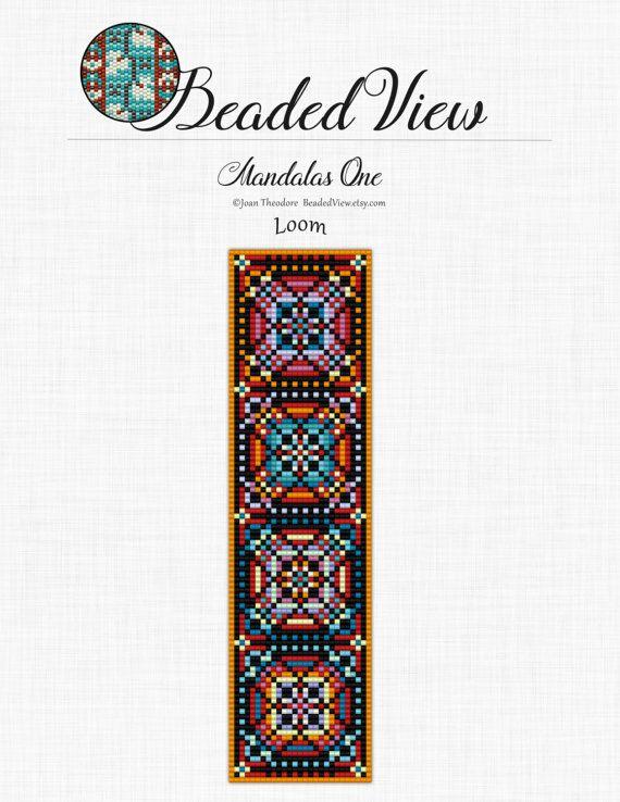 Loom Bead Pattern Beading Pattern Loom Bracelet Pattern