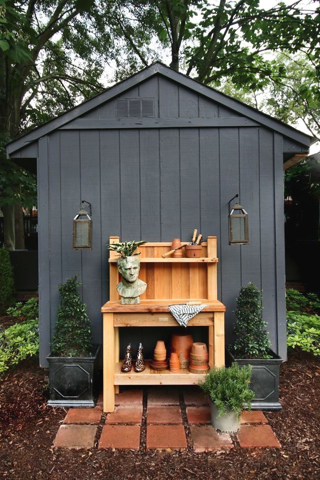 Storage Shed Plans - CLICK PIC for Lots of Shed Ideas #backyardshed - Potting Shed Designs