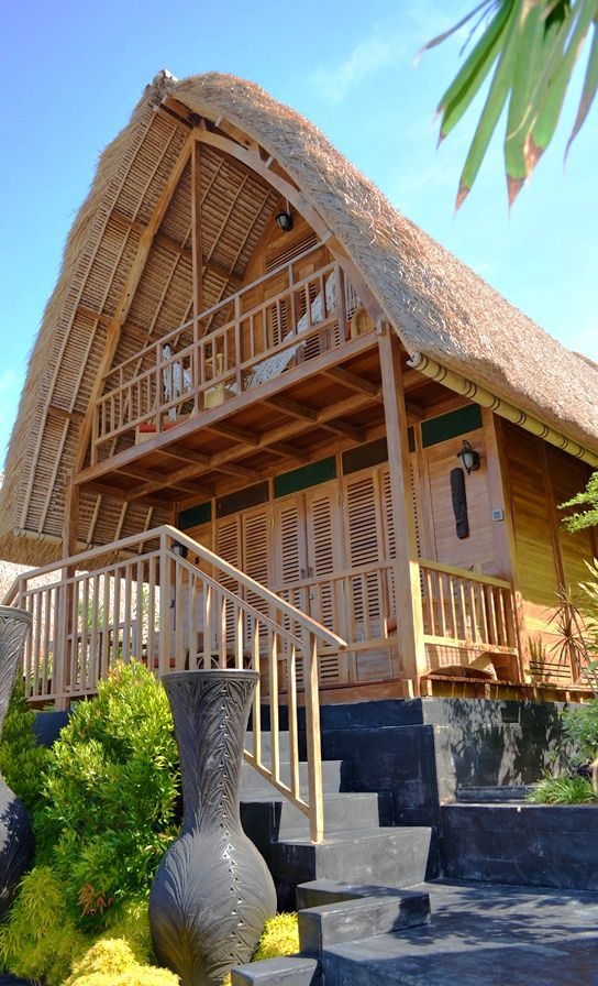 Lumbung 2 Storey Villa is an amazing option for your next stay featuring a larger area to accommodate more guests. Traditional materials and thatched roofs will make you feel like you are truly on a tropical getaway taking away the stresses of your day to day life.
