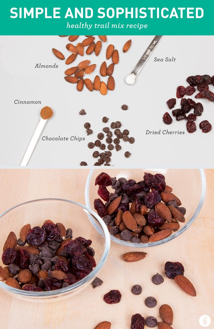 Healthier Trail Mix: Simple and Sophisticated
