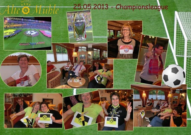 Championsleague Finale in der Alten Mühle