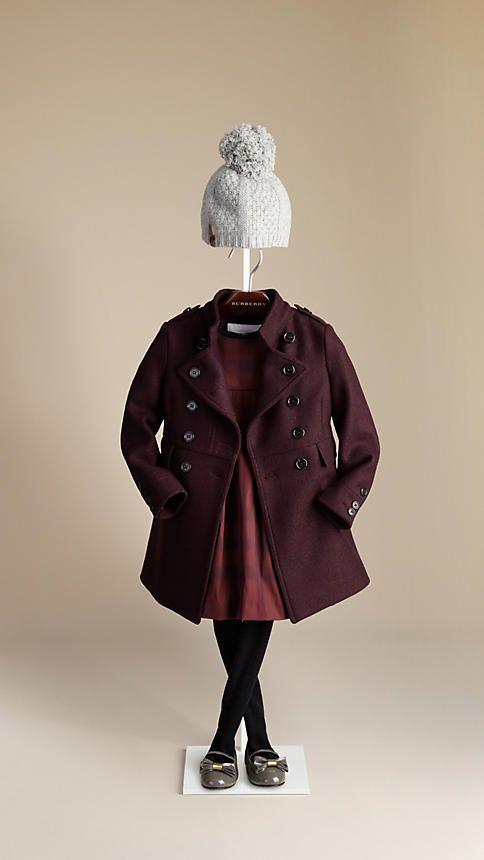 Wool Military Coat | Burberry