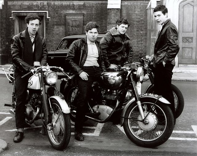 Youth Culture - Greasers/Rockers | by brizzle born and bred