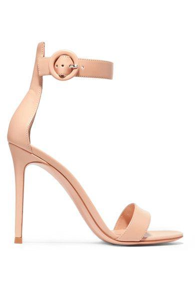 Gianvito Rossi - Portofino Leather Sandals - Neutral