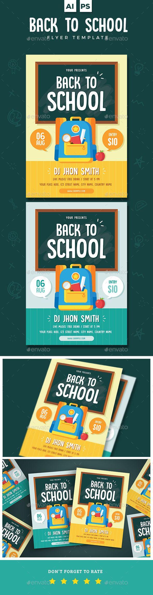 flyer for school
