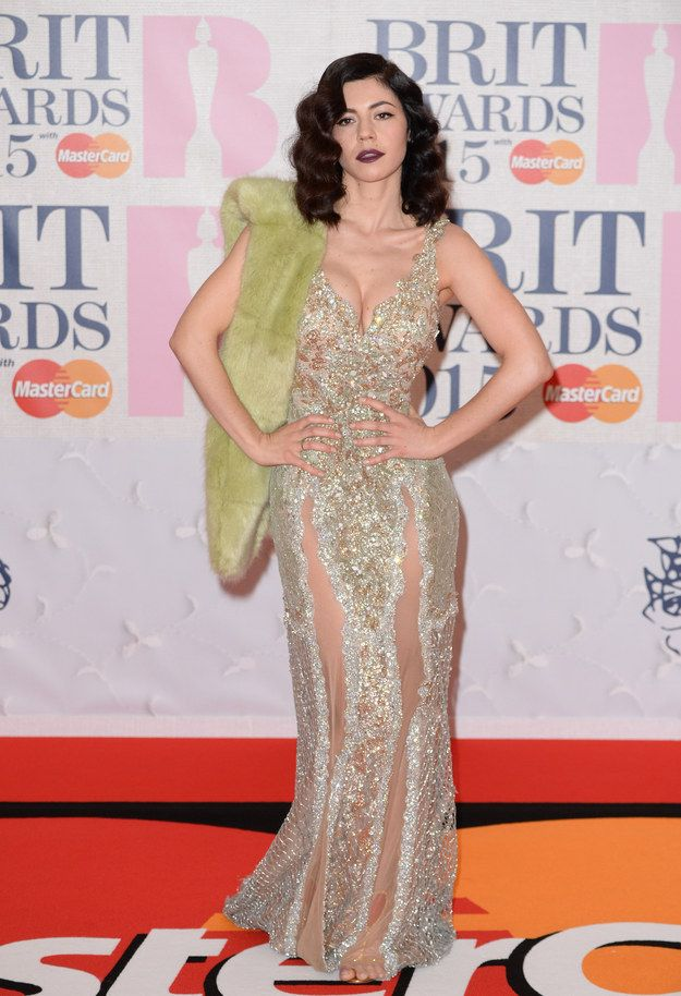 Marina and The Diamonds. - Brit Awards 2015