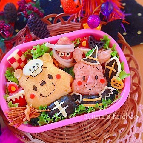 プーさん&ピグレットのハロウィン弁当♡ by Ayumi Furukawa at 2014-10-30