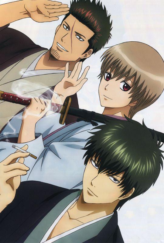Kondo Isao, Okita Sougo & Hijikata Toushirou