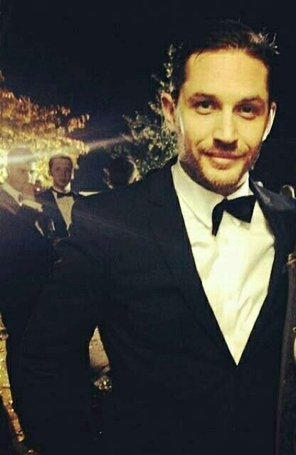 Tom Hardy- Oh. My.  That made my pinning day!!!                                                                                                                                                                                 More