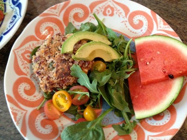 Quinoa-Feta Veggie Burger (gluten-free) | Life in the Kitchen | Pinte ...