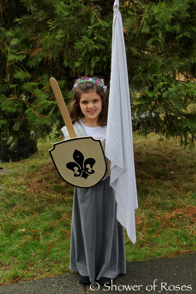 Shower of Roses: St. Joan of Arc, Maid of Lorraine :: All Saints' Day Costume