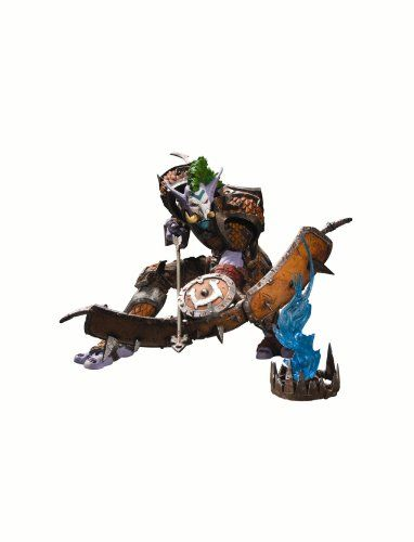 DC Unlimited World of Warcraft Premium Series 3 Troll Hunter Tazdingo Action Figure >>> Be sure to check out this awesome product.