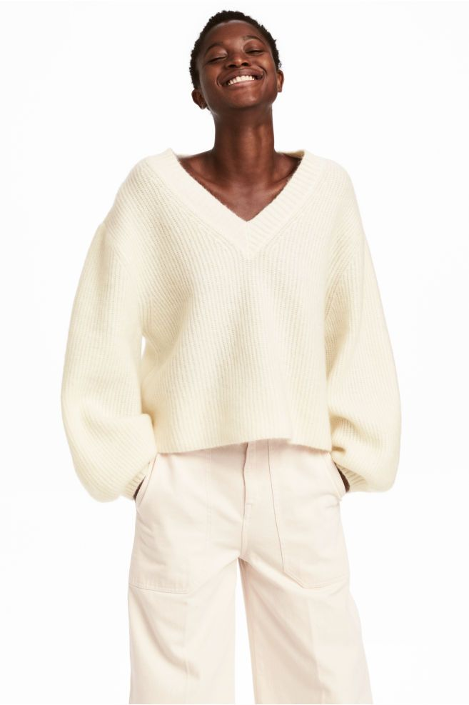 3145ea318d6 Mohair-blend jumper in 2019 | looks | Sweater, shorts, Mohair ...